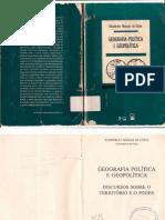 Geografia Política e Geopolítica - Costa, Wanderley Messia