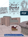 Hudson Booksellers Best Books of 2015
