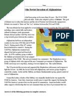 Detente Soviet Invasion Afghanistan