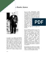 proyecto de nacion Benito Juárez