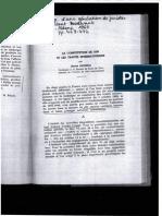 La Constitution de 1958 et les traités internationaux