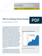 Who is Holding All the Excess Reserves