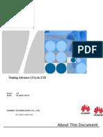 Timing Advance (TA) in LTE
