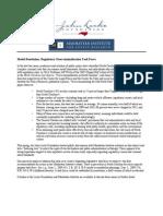 Introduction Letter - NC Overcriminalization Task Force