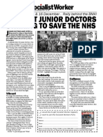 Junior Doctors Strike 181115