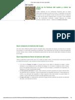 Cómo Medir La Textura Del Suelo _ Agromática