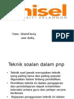 Presentation1 Teknik Penyoalan Dalam Pnp