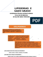 7. Dislipidemias e Hígado Graso
