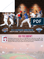 2016 Brooklyn Cyclones Marketing Deck