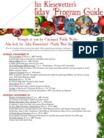 2015 Holiday Television Guide