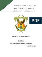 Apuntes de Geotecnia I - Universidad de Sinaloa