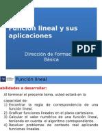 13 Funcion Lineal