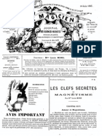 Le Magicien, journal des sciences occultes, physiologiques, philosophiques et magnétiques N°96