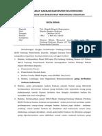 Nota Dinas Badan Usaha