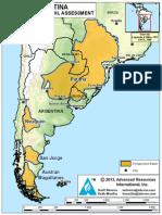 Argentina EIA/ARI Basin Map