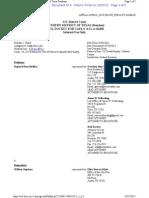 Holiday 47-5 Docket Sheet