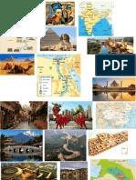 India, China, Mesopotamia, Egipto
