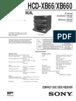 Sony Hcd Xb66
