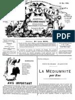 Le Magicien, journal des sciences occultes, physiologiques, philosophiques et magnétiques N°70