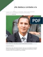 11-11-2015 Excelsior -Moreno Valle Destaca Combate a La Pobreza