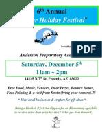 APA's Winter Holiday Festival