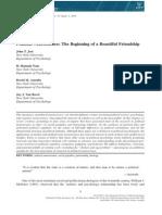 (2014) Political Neuroscience the Beginning of a Beautiful Friendship