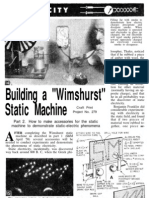Wimshurst Static Machine Part 2