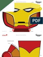 Mascara Homem de Ferro