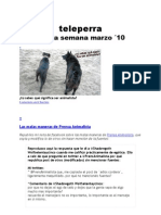 Teleperra Ultima Semana de Marzo 2010
