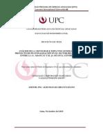Análisis de la movilidad e impactos generados por el proyecto de peatonalización en el sector del Jirón Huallaga