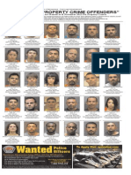 Most Wanted Property Crime Offenders Nov. 2015
