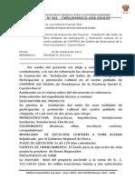 INFORME N° 001- LOCAL DE USOS MULTIPLES