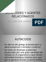 Autacoides y Agentes Relacionados