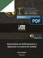 11. (M) Retroanalisis de Deflectometria y Aplic. en Control de Calidad- Erwin Kohler