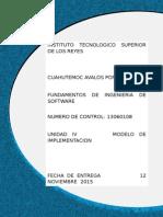Unidad 5 Ingeniería de software