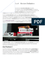 Atari Flashback 1 a 4 - Review Definitivo _ Antonio Borba