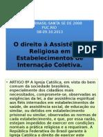 o Direito a Assistencia Religiosa Em Estabelecimentos