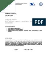2.2 EEP Ley de Ohm