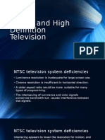 Digital and High Definition Television