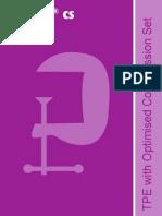 Dryflex Cs Tpe With Optimised Compression Set