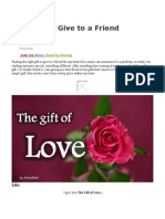 7 gifts to give to a friend