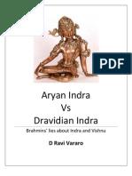 Aryan Indra vs Dravidian Indra