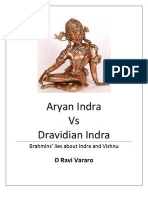 Aryan Indra vs Dravidian Indra | Hindu Mythology | Hindu Literature