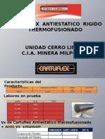 Cartuflex Antiestatico Rigido Thermofusionado - Cerro Lindo