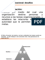diseno organizacional