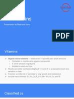 B.5 Vitamins