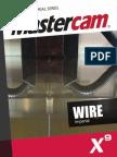SAMPLE Mastercam X9 Wire Training Tutorial