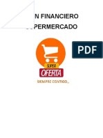 Plan financiera supermercado