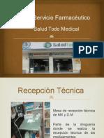 Visita de Inspeccion a Un Servicio Farmaceutico