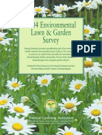2004 Environmental Lawn & Garden Survey